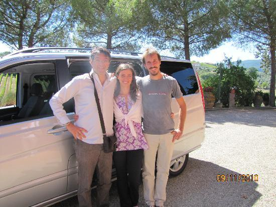 Tours in Tuscany - Private Tours: Marco and winery owners