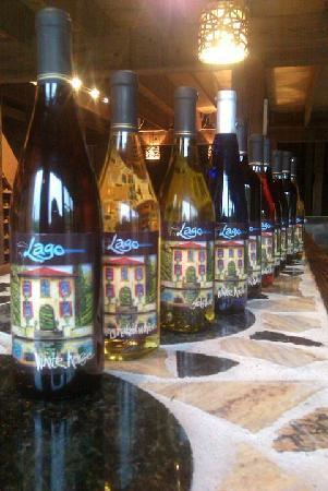 Lago Winery: 10 Wines that consist of whites, sweets, and reds