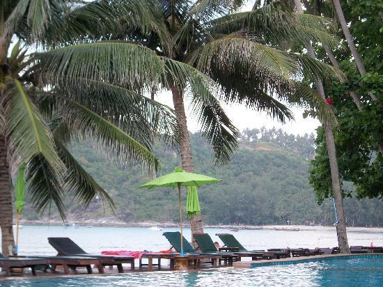 Koh Phangan Dreamland Resort: View from Pool