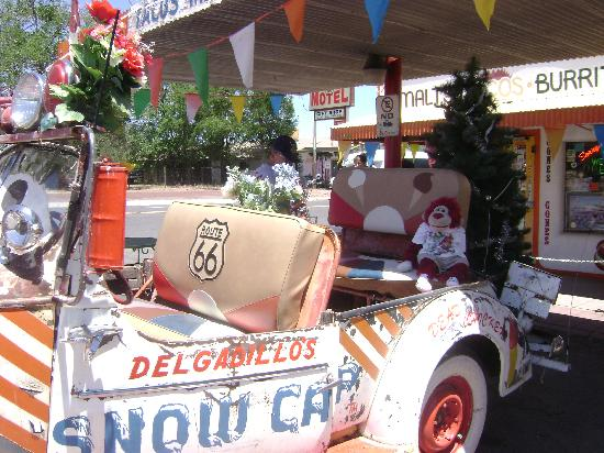 Delgadillos Snow Cap: love the Snow Cap