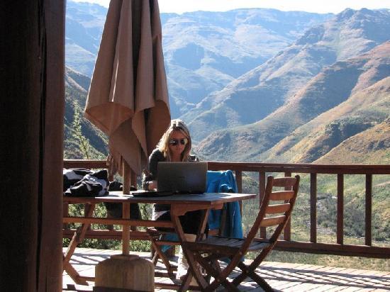 Maliba Mountain Lodge : Working - Wifi connection is great!