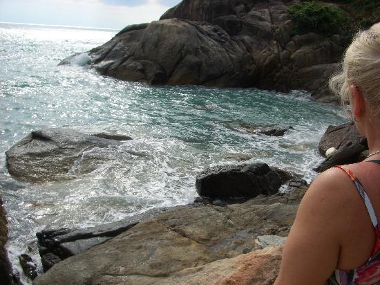 Merit Wellness & Mind Retreat Resort Samui: Wie soll man hier baden gehen können?