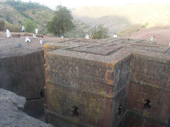 Lal Hotel Lalibela: chiesa nella roccia