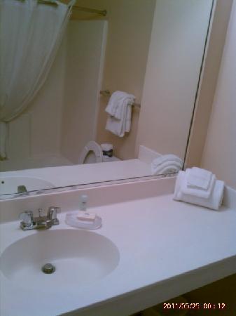 Suburban Extended Stay Pensacola-NAS: Bathroom area
