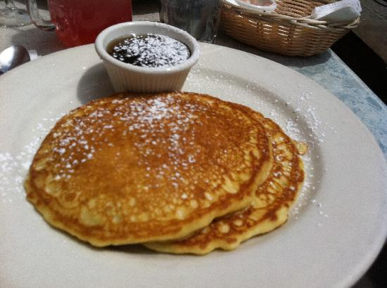Fred's: choc chip pancakes
