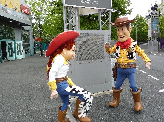 Disneyland París: Jesse and Woody
