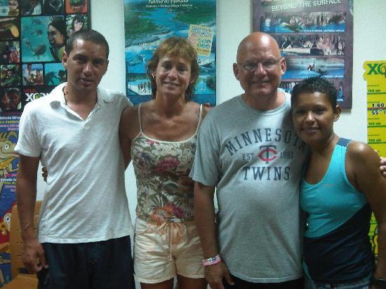 Mayan Aqua Dive: Daniel, Lori, Rich, Karla
