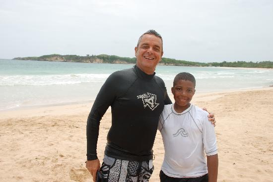 Macao Surf Camp: Dwight and Rafael