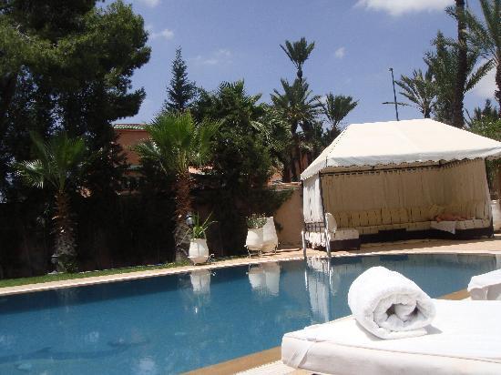 Dar Selwan Wellness & Spa : La piscine