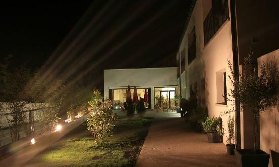 El Hotelito: By night
