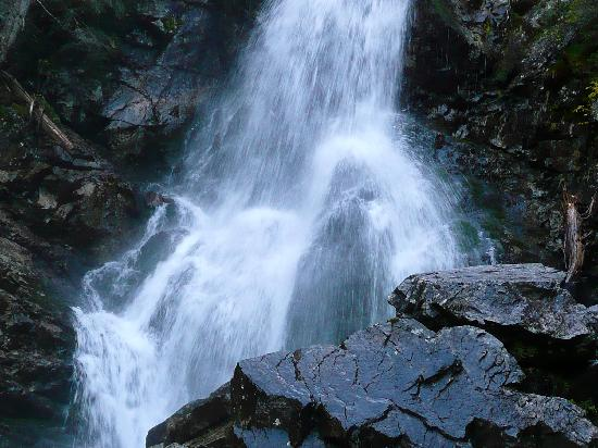 Male Borove, Slovakia: Rohace waterfall