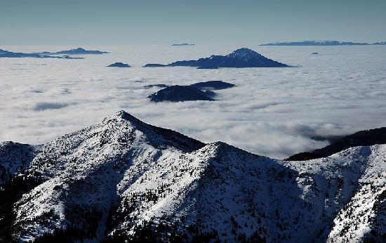 Male Borove, Slovakia: West Tatras and Choc mountains