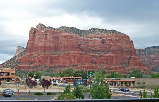 Bell Rock Inn: View from Patio