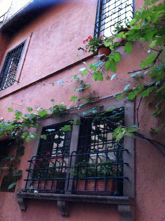 Hotel Domus Tiberina: Esterno dell'albergo