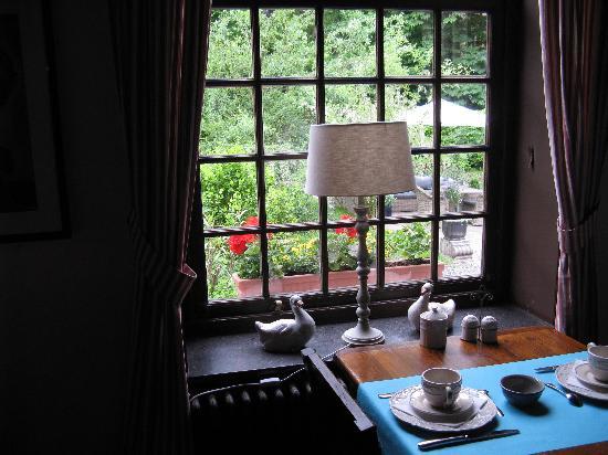 Hotel Egmond: breakfast room