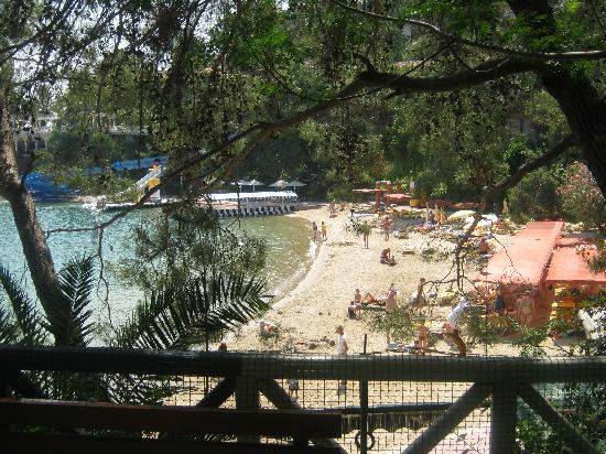 Letoonia Club & Hotel: View from the kids play area