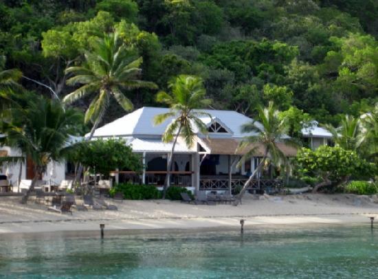 Cooper Island Beach Club Restaurant: Absolutely Charming!