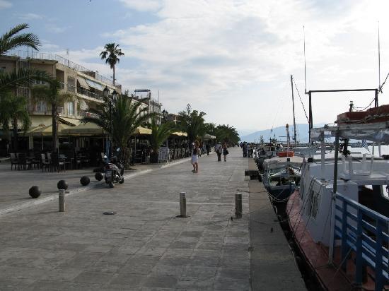 Nauplion Promenade: Hafenpromenade