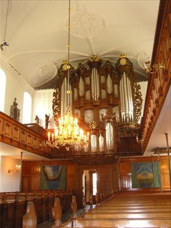 Holmens Kirke : interior