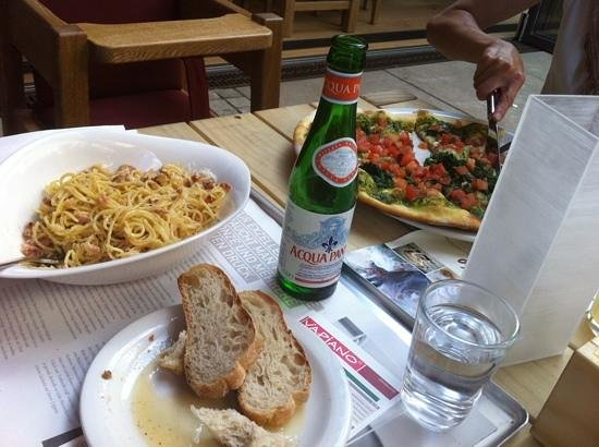 Vapiano: the food and drink
