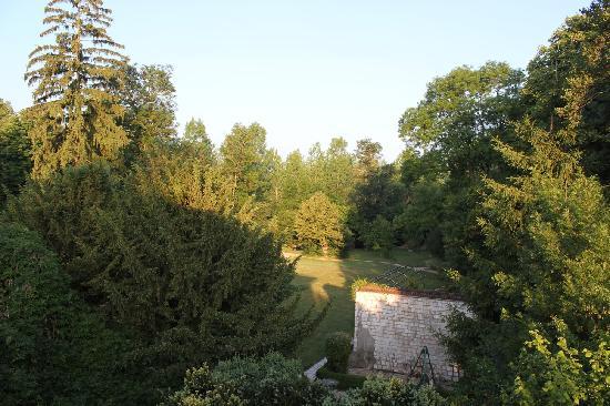 Le Clos de Mutigny : La vue depuis notre chambre le matin.