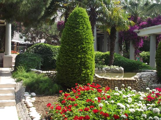Club Asteria Belek: gorgeous gardens