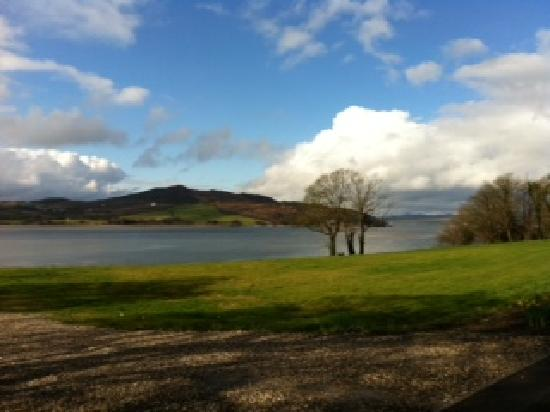 The Red Door Country House: The view over Lough Swilly
