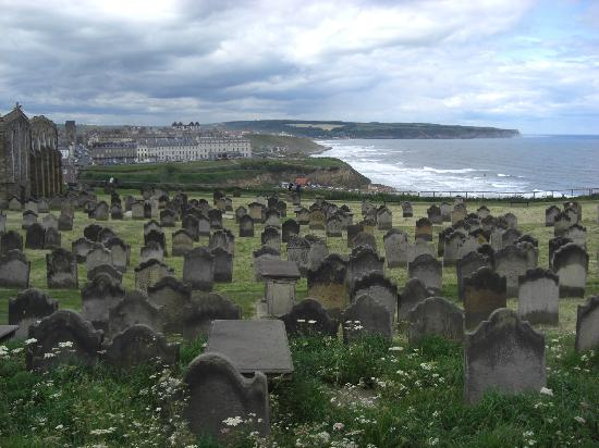 Whitby, UK: St Marys Graveyard(Inspiration for Dracula)