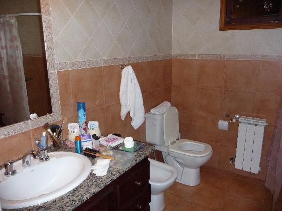 Chalet Suizo: Badezimmer