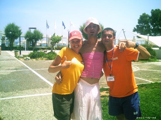 Annabelle Beach Resort: The guys'n girls!!