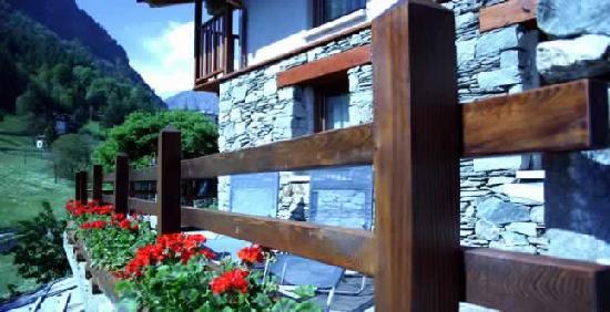 Challand Saint Anselme, Italia: Terrazza Panoramica