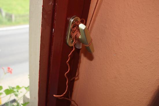 Gasthaus Waldhaus : het touw was niet los te krijgen....