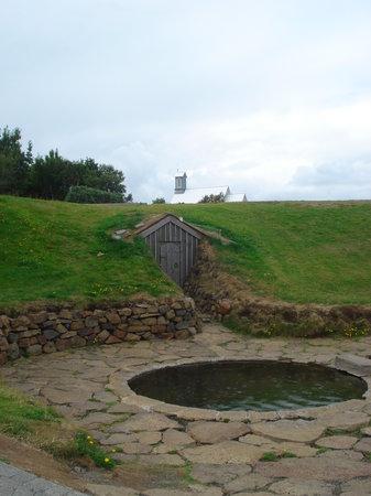 The Settlement Centre: The pool, where Saga-king Snorri was killed