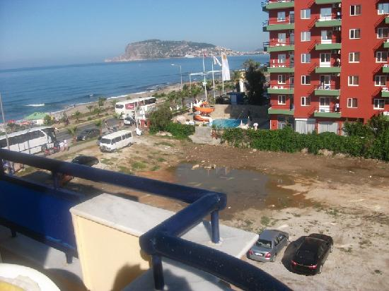 Monart Luna Playa Hotel: Our Sea View !!!!!