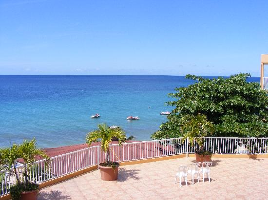 Villa Cofresi Hotel: view from our room