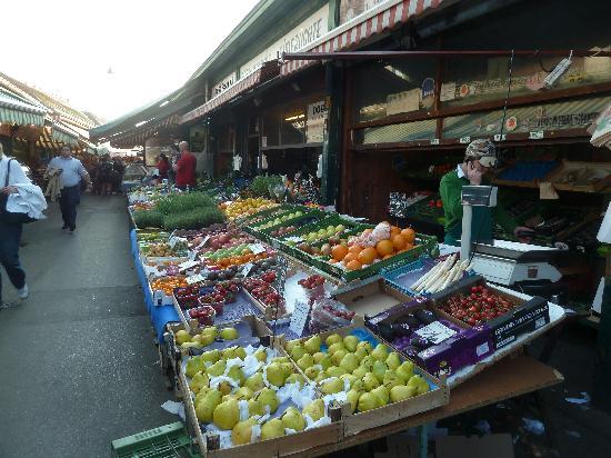 Viena, Austria: Naschmarkt Wien