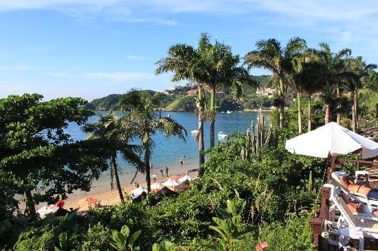 La Boheme Hotel e Apart Hotel: Vista desde el balcon de la psicina