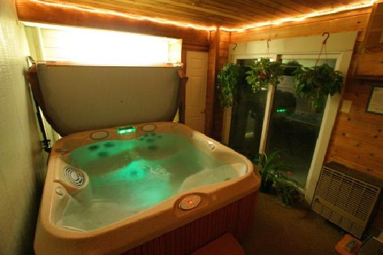 Waitsfield, VT: Awesome Hot Tub