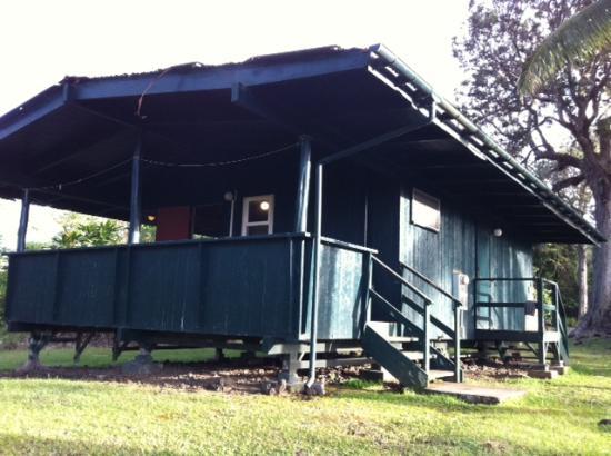 Waianapanapa State Park Cabins: Cabin #7 Lanai View