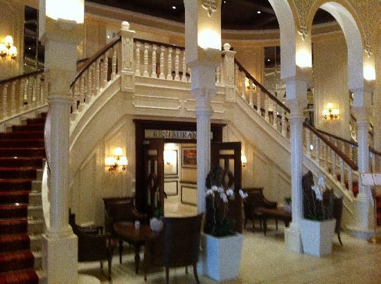 Cavallino Bianco Family Spa Grand Hotel : Ingresso Hotel