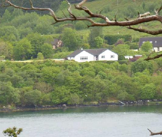 The Gables Bed & Breakfast: The Gables from across the bay