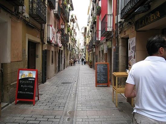 Logroño, Espagne : Calle San Juan