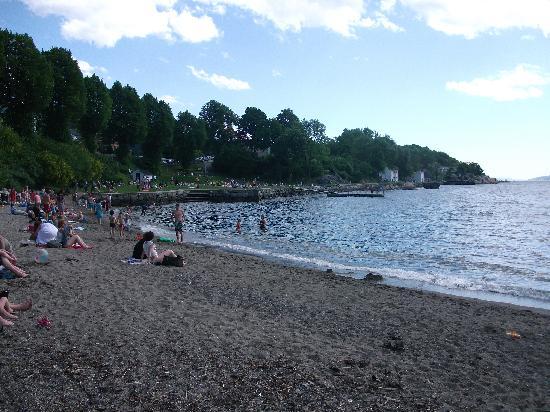 Drobak : Drøbak sea shore
