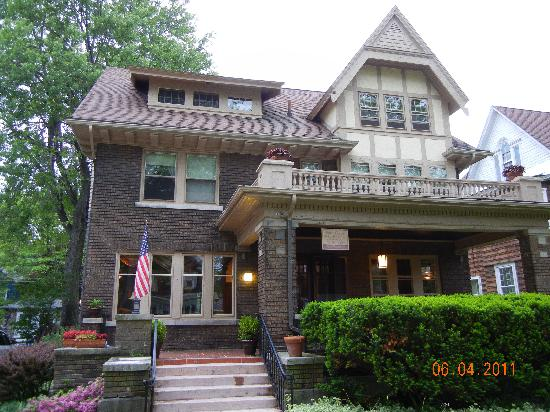 Park Place Bed and Breakfast: Marshall House front