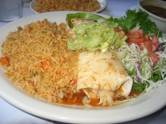 Lauriol Plaza: Burrito Gordo