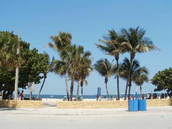 Sands Harbor Hotel and Marina Pompano Beach : beach
