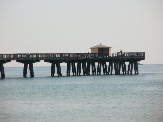 Sands Harbor Hotel and Marina Pompano Beach : fishing pier