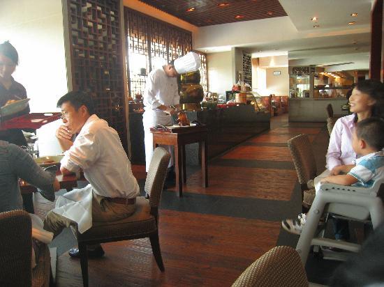 Sha Tin 18 - Hyatt Regency Hong Kong, Sha Tin: Sha Tin 18 during lunch for Dim Sum