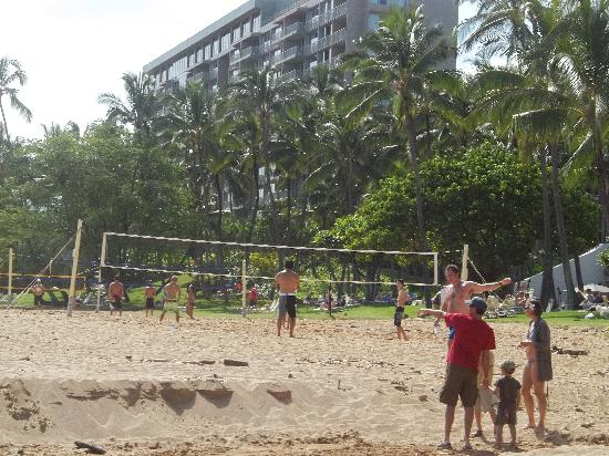 Kala Beach Volleyball Fun With The Marriott Kauai At A Distance