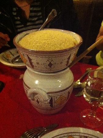 Le Riad : Un couscous excellent !!!